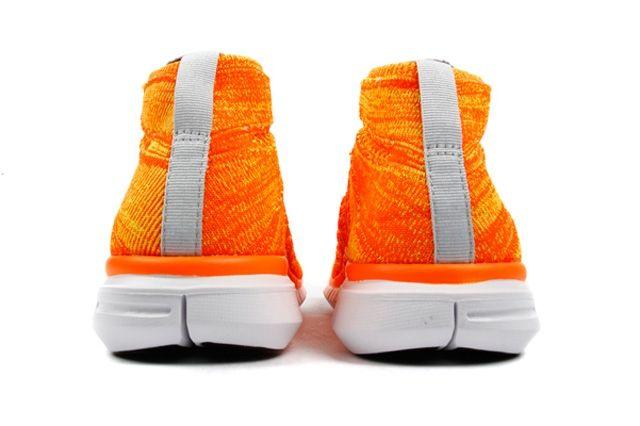 Nike Free Flyknit Chukka Orange Volt 1
