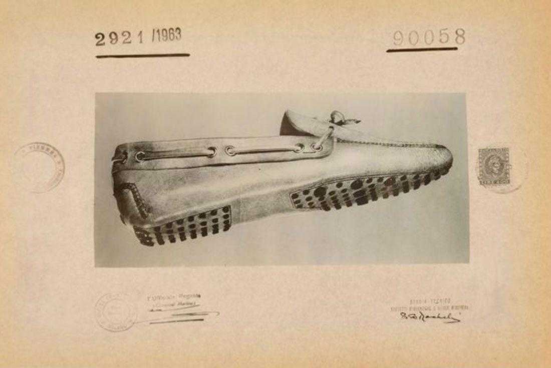 Driving shoe design patent Gianni Mostile 1963 L'Bardi