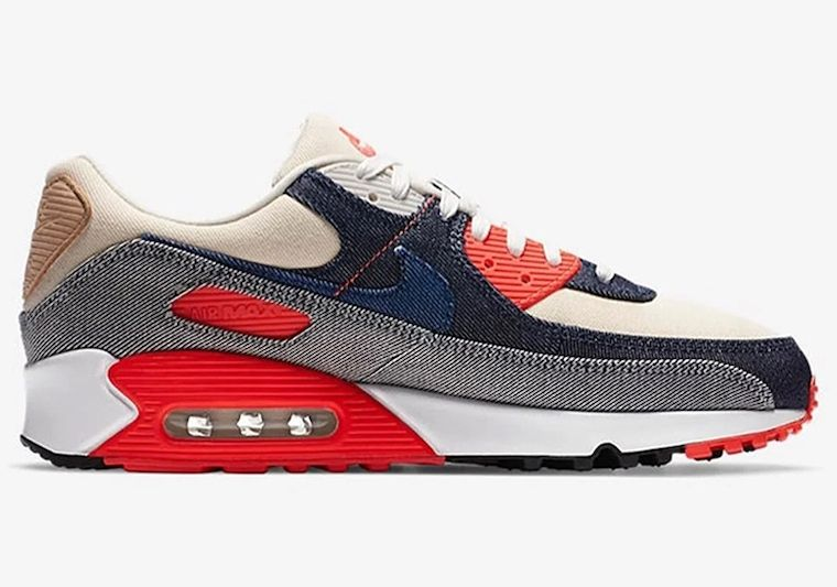 DENHAM-Nike-Air-Max-90-Infrared-