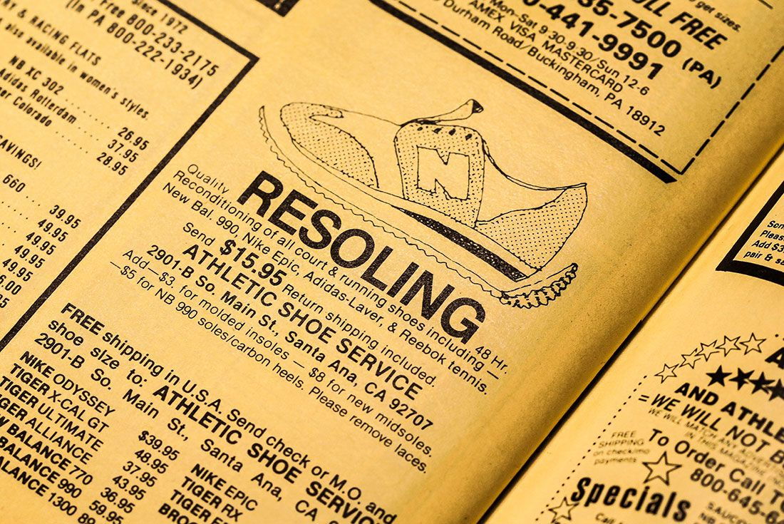 Runners World Resoling Service