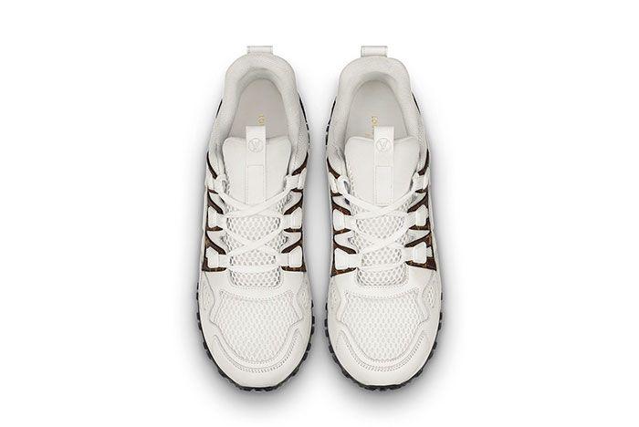 Louis Vuitton Run Away White Mono Top