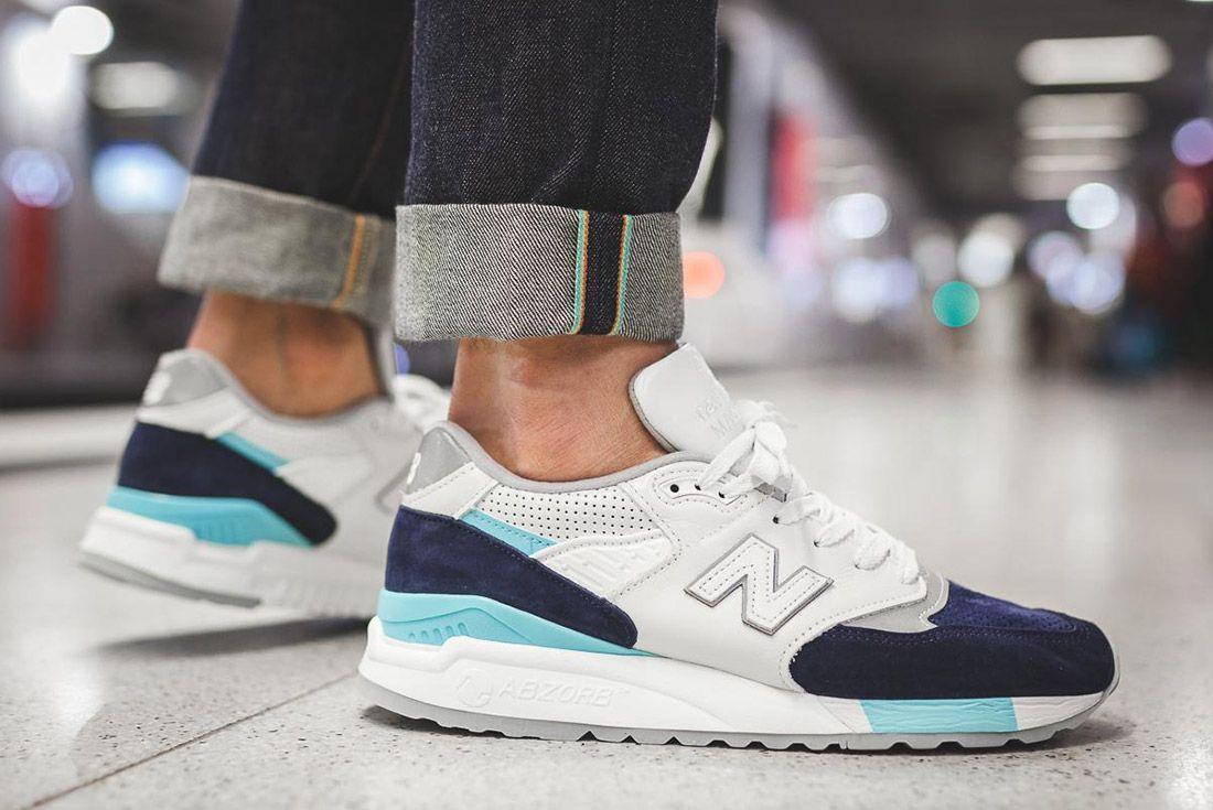 New Balance 998 Wtp White Made In Usa Sneaker Freaker 8