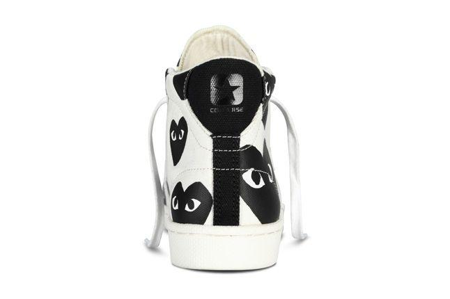 Converse Comme Des Garcons Play Collection Heel Profile 1