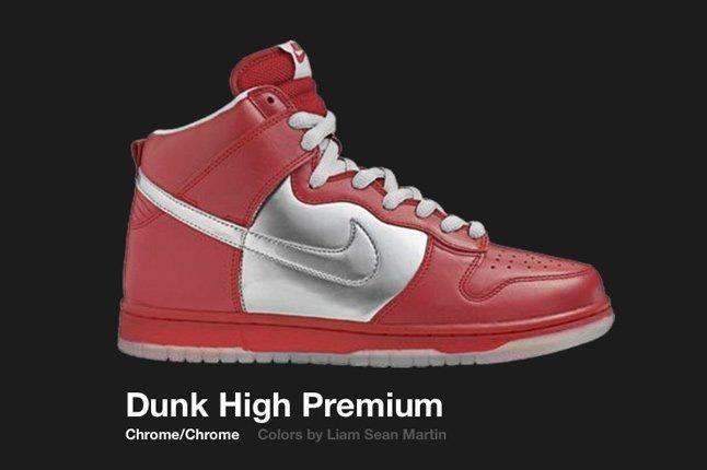 Nike Dunk Chrome Chrome High Sb Mork Mindy 2006 1