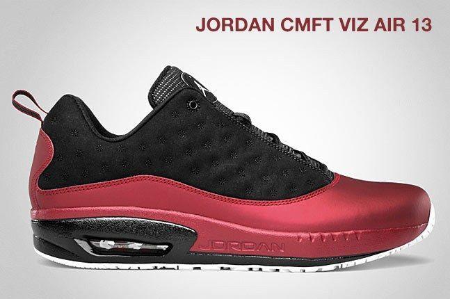 Jordan Cmft Viz Air 13 Red Black 1
