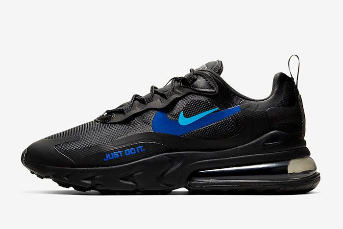 Nike Air Max 270 React Just Do It Ct2203 001 Lateral