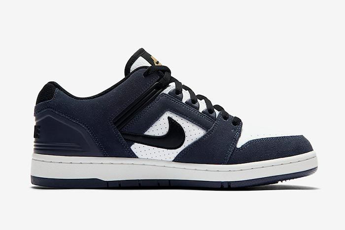 Nike Sb Air Force 2 Low Ao0300 400 Right Side Shot
