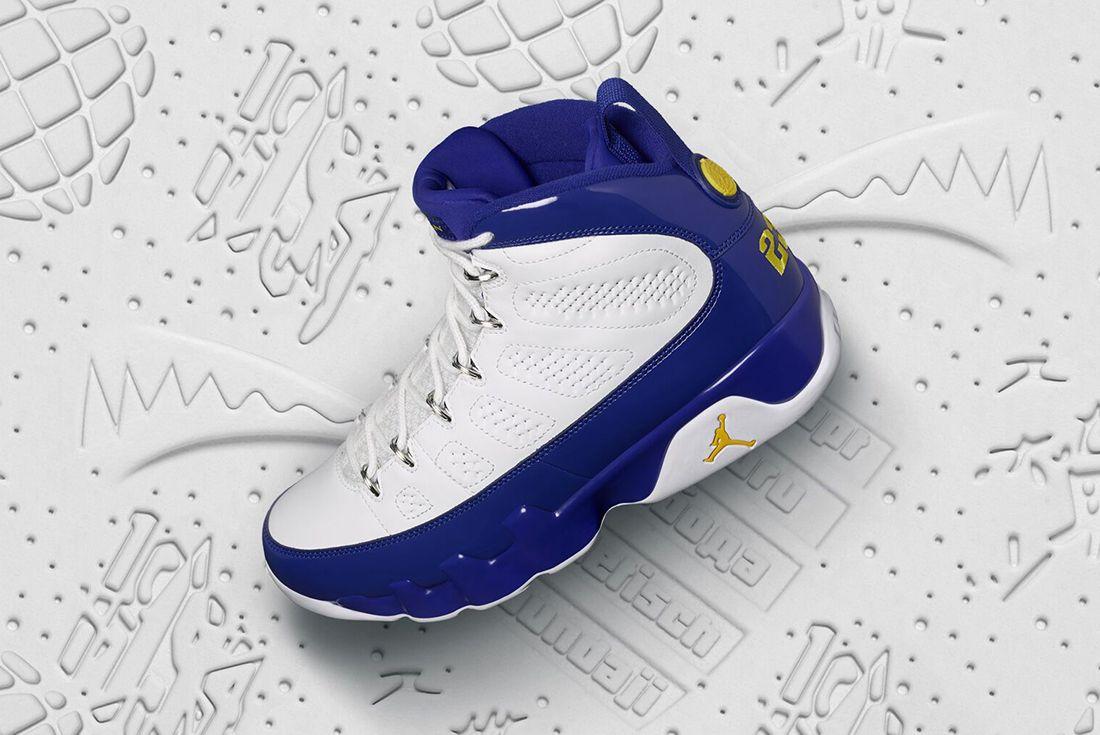 Air Jordan 9 Tour Yellow 7