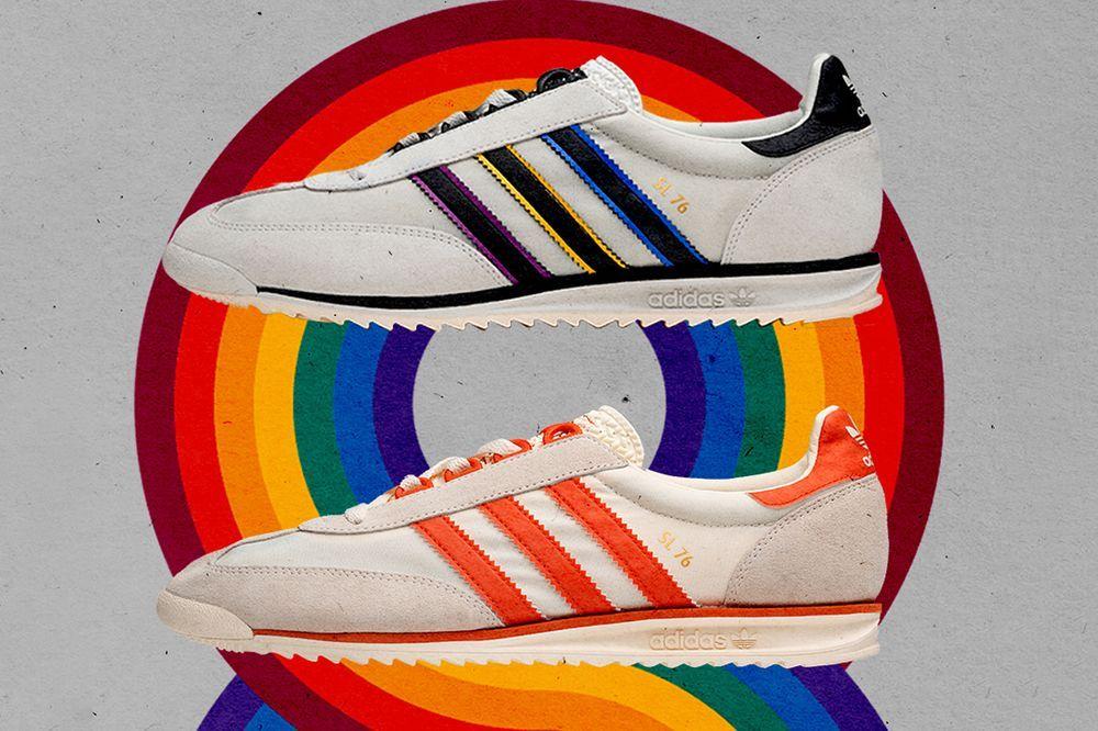 size? adidas Sl 76 Left