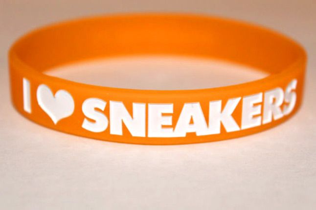 I Love Sneakers Bands Orange 1