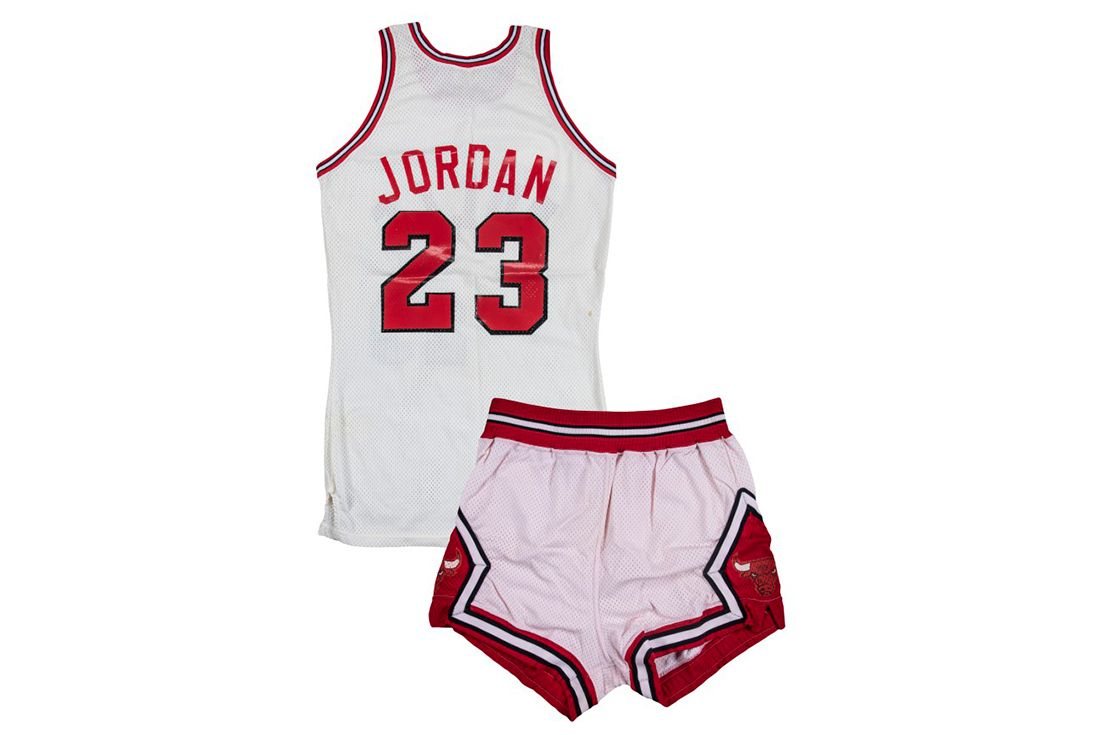 sothebys michael jordan bulls uniform