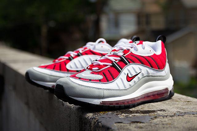Nike Air Max 98 University Red 6