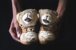 Adidas Infant Js Bear Tan Thumb