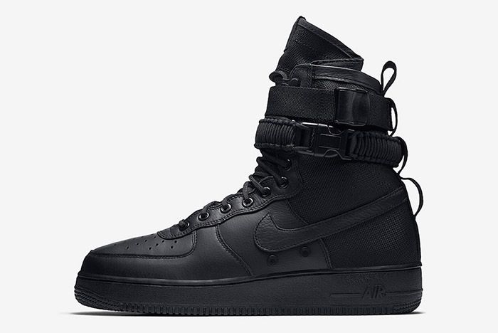 Nike Sf Air Force 1 Black Friday Triple 5