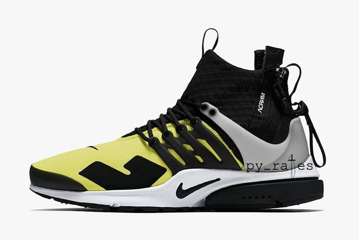 Acronym Nike Presto Dynamic Yellow 1