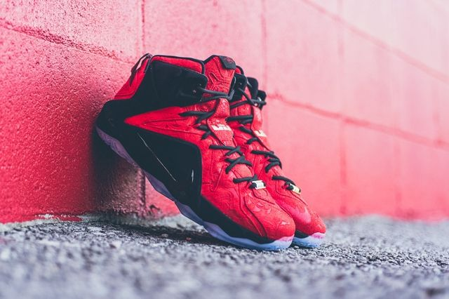 Nike Lebron 12 Ext Red Paisley 3