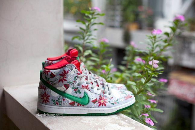 Concepts Nike Sb Dunk High Premium Ugly Christmas Sweater 8