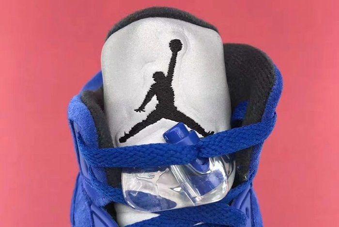 Air Jordan 5 Blue Suede12