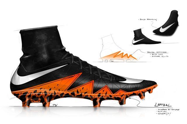 Nike Hypervenom 2 Design Sketches 1