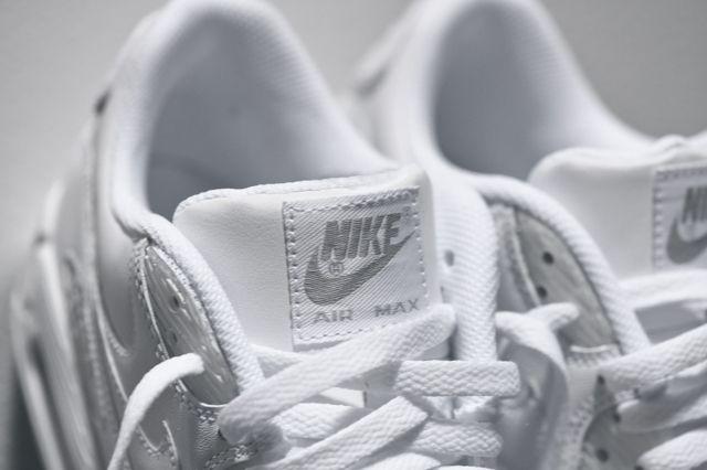Nike Am90 Leather Triple White Bump 1