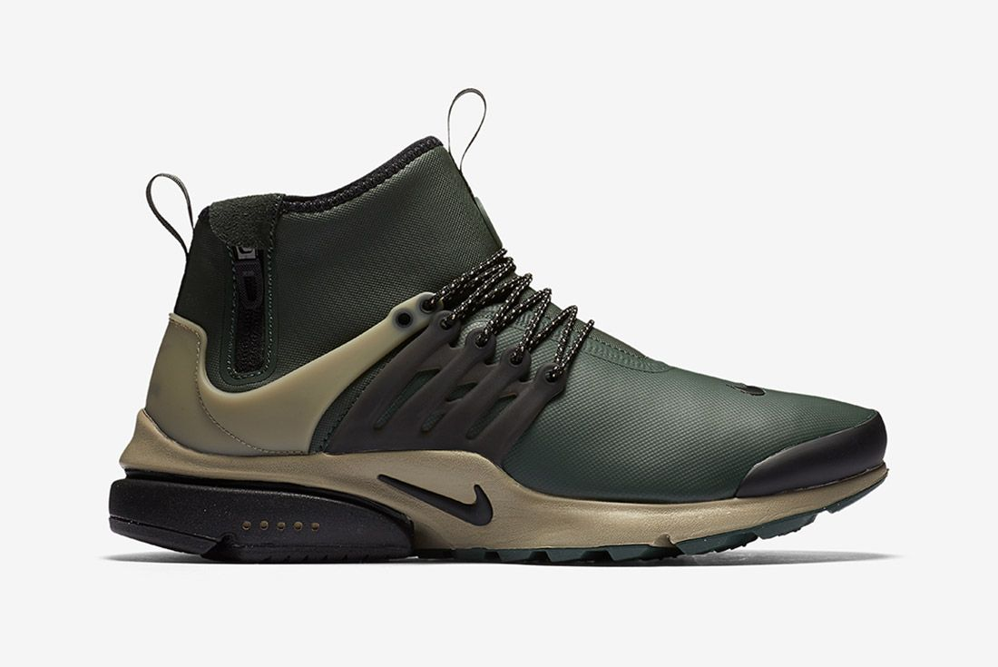 Nike Air Presto Utility Mid Grove Green 1