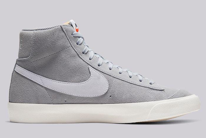 Nike Blazer Mid 77 Grey Suede 2