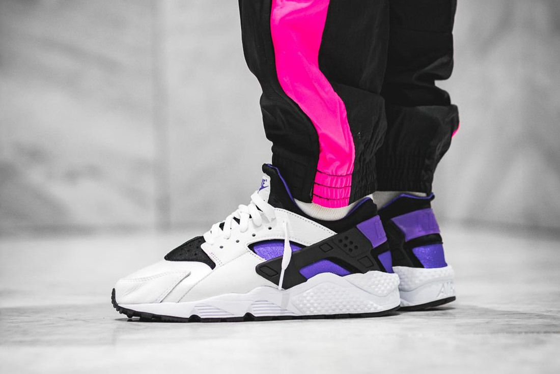 Nike Air Huarache Run 91 Qs 2018 Purple Punch 9