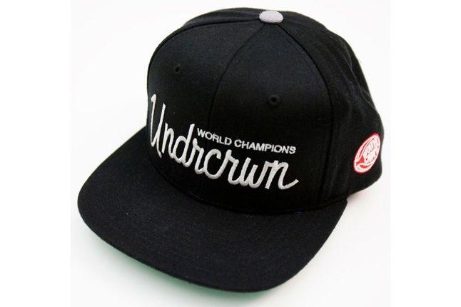 Undrcrwn X Starter Script Club Snapback Hats 6 1