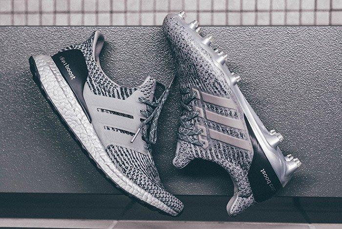 Adidas Ultraboost Silver Pack Cleat Thumb