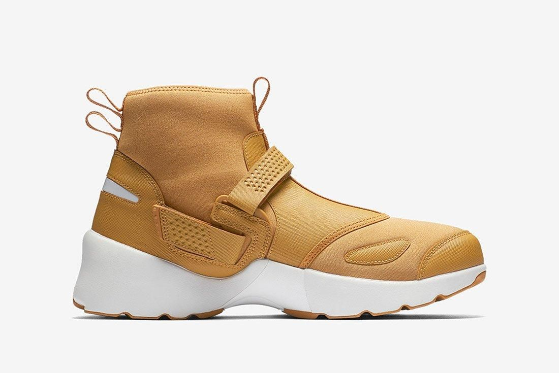 Air Jordan Trunner Lx High Golden Harvest Wheat Brown 5