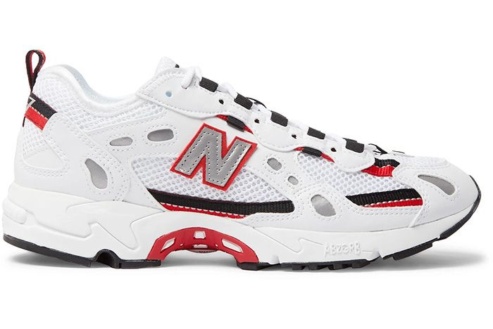New Balance 827 White Blk Red Right 1