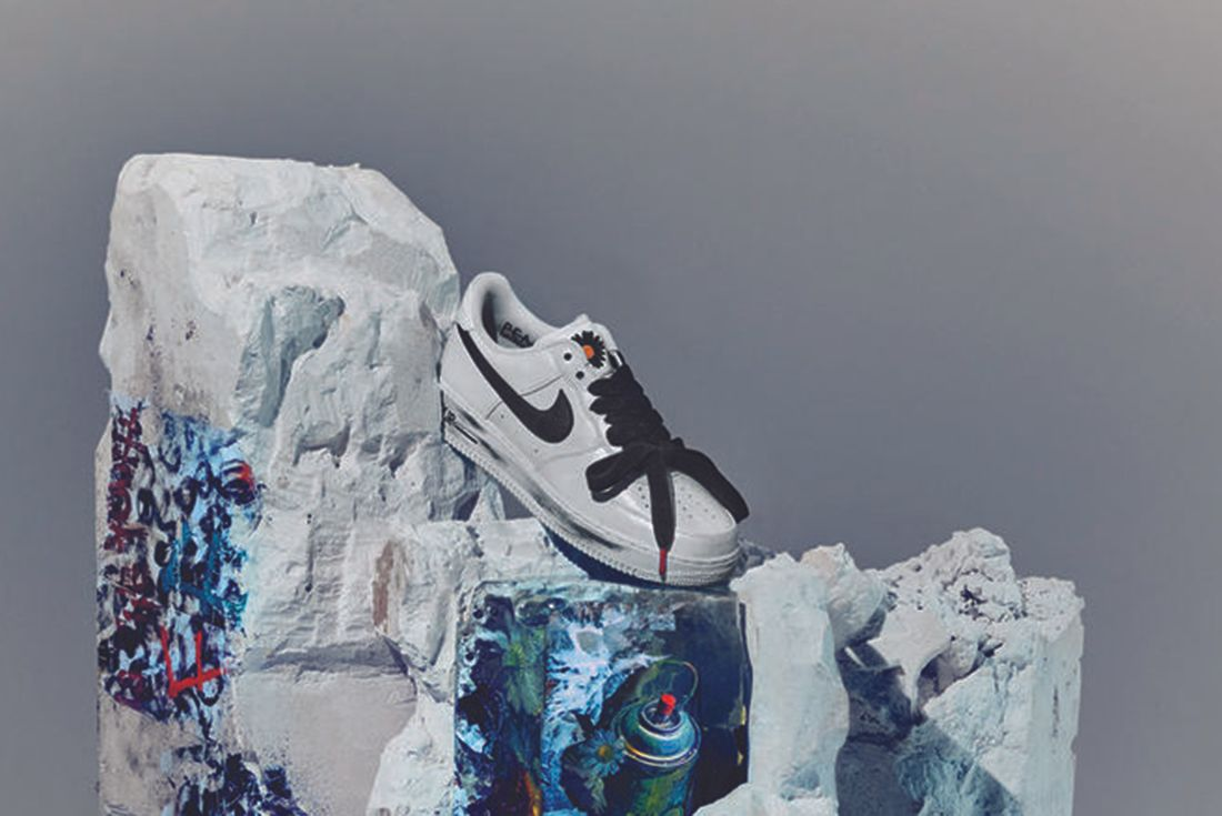 PEACEMINUSONE x Nike Air Force 1 'Para-Noise 2.0' official