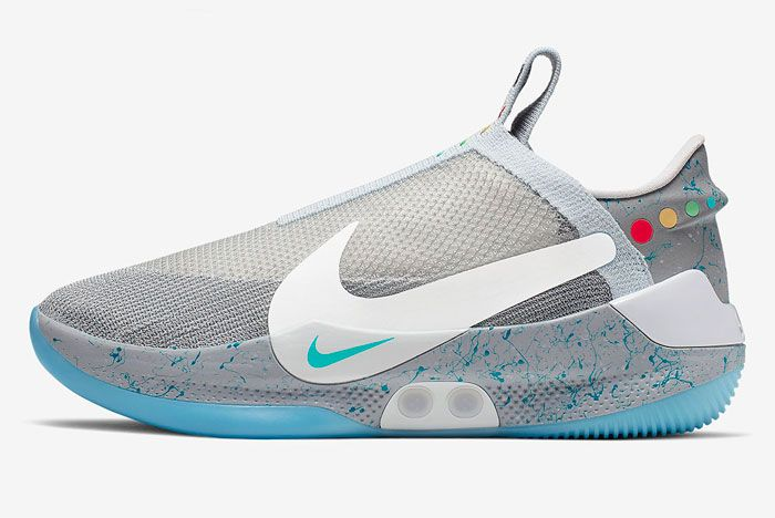 Nike Adapt Bb Wolf Grey Left