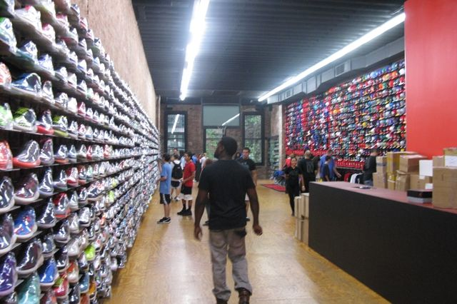 Flight Club New York City Whole Store