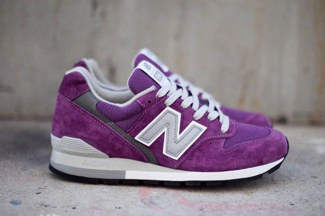 New Balance 996 Lolipop Pack Purple Profile 1
