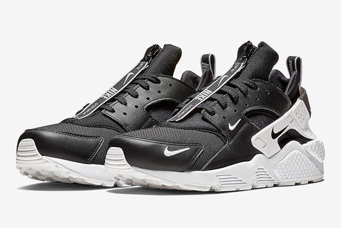Nike Air Huarache Zip Black 1