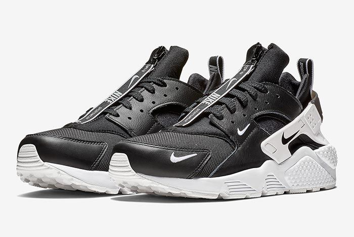 Nike Air Huarache Zip Black 1