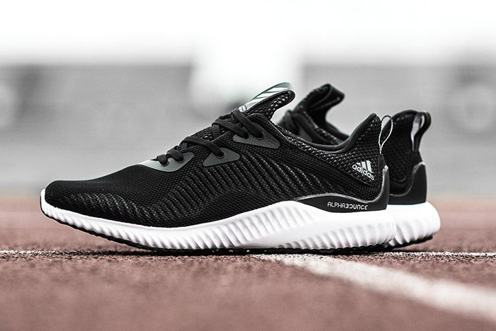 Adidas Alphabounce Black White 4