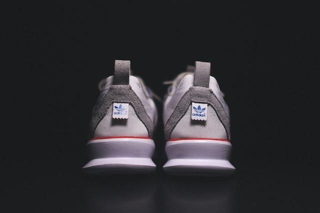 Adidas Sl Loop Runner White Bluebird Red 4