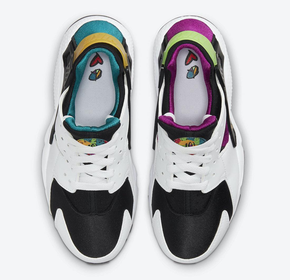 Nike Air Huarache GS Peace Love Swoosh