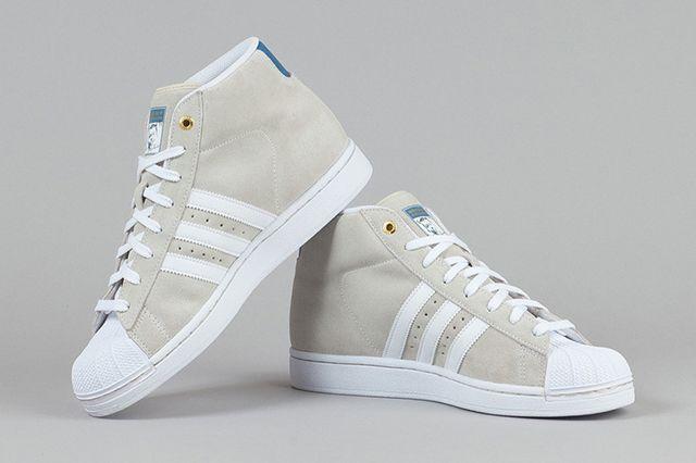 Adidas Pro Model Richard White White St Stonewash 4