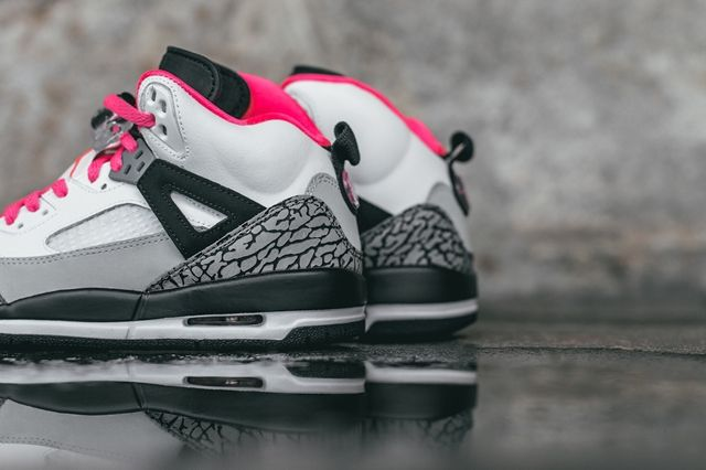 Air Jordan Spizike Hyper Pink Bumper 4
