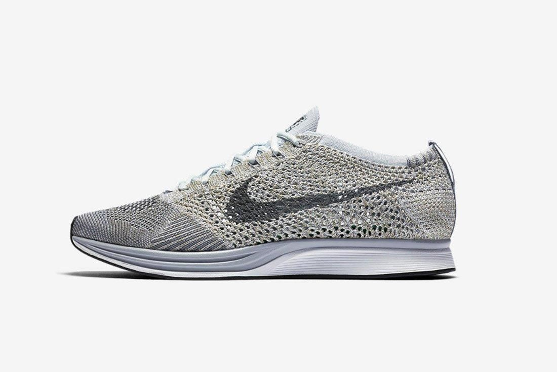 Nike Flyknit Racer Pure Platinum 1