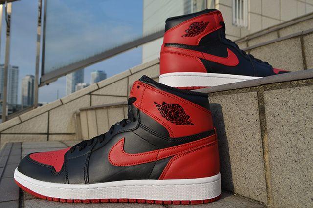 Air Jordan 1 High Og Bred 5
