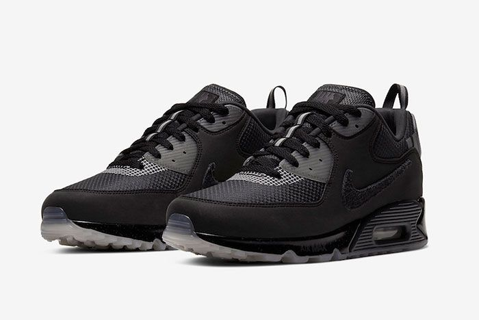Undefeated Nike Air Max 90 Black Cq2289 002 Release Date Official