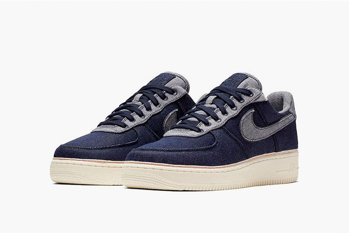 Nike 3 X 1 Air Force 1 Navy Front