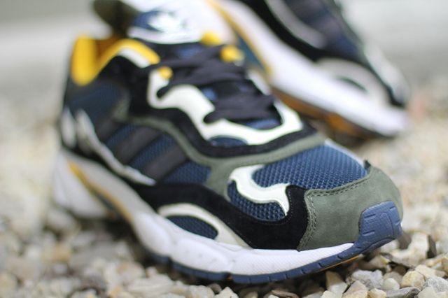 Adidas Originals Temper Run Olive Navy Sunflower 1