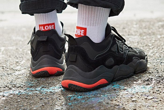 Lifestyle Optionevo Blk 02 Heel On Foot