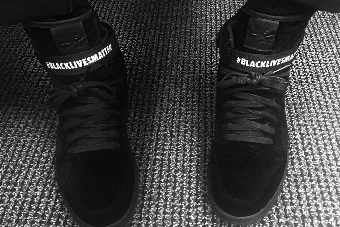 black lives matter air jordan 1