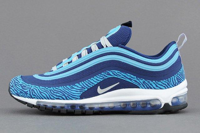 Nike Air Max 97 Prm Tape (Blue Zebra) - Sneaker Freaker